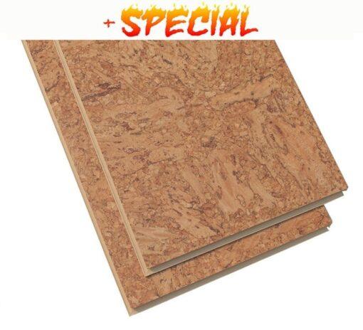 natural cork floors salami 11mm click on sale