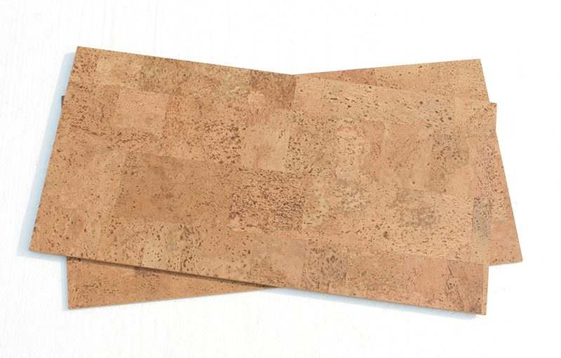Natural Cork Flooring Leather 6mm Cork Tiles