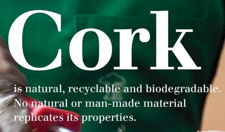 natural recyclable biodegradable cork
