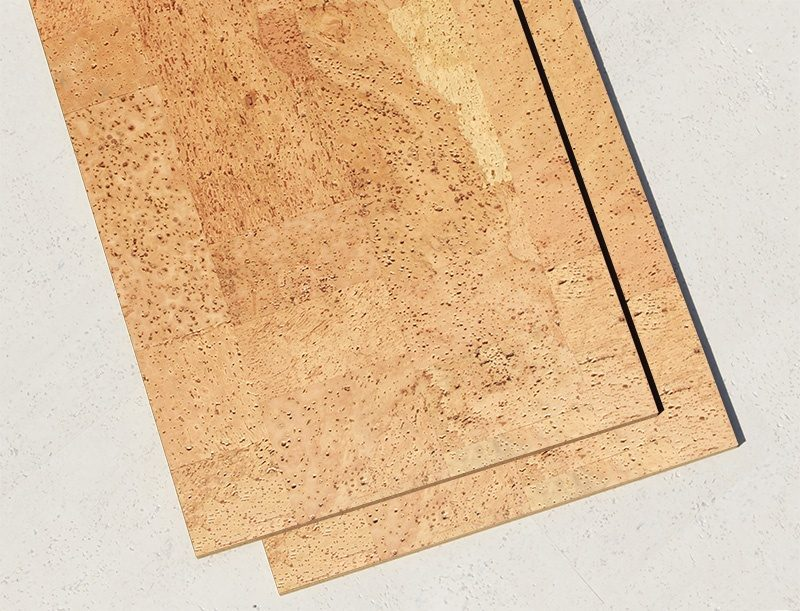 Natural Cork Flooring Leather 6mm