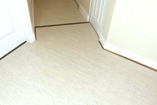 Modern Cork Flooring Bleached Birch 8mm Tiles Forna