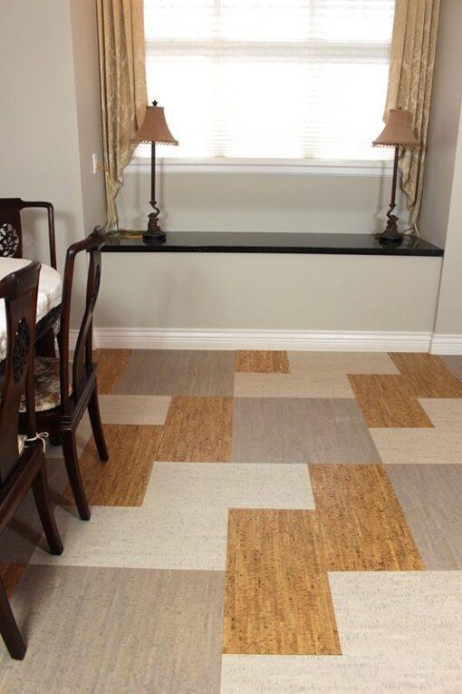 parquet floor cork silver birch bleached birch gray bamboo