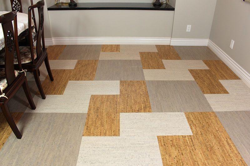 parquet flooring cork gray bamboo white bamboo bleached ...