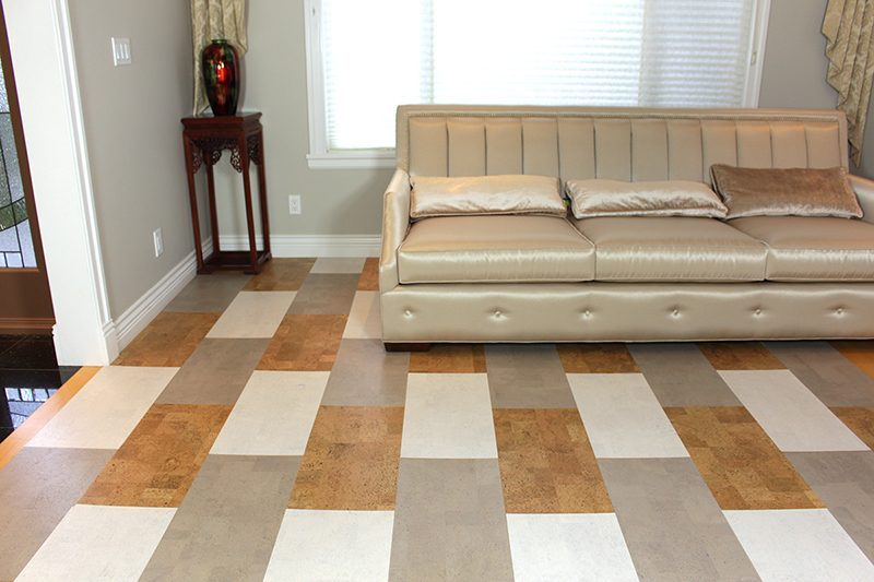 xparquet floor gray leather white leather leather cork