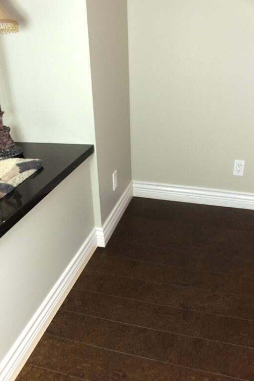 plank flooring salami ERC cork living room