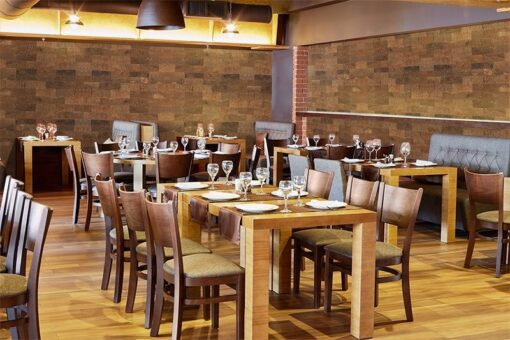 restaurant wall tiles forna cork wall panels noise reduce acoustic