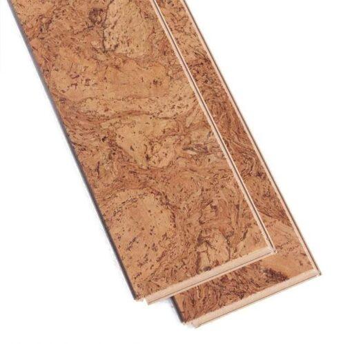 ripple beveled cork flooring narrow