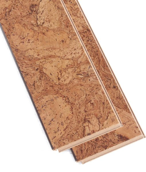 ripple beveled cork flooring narrow