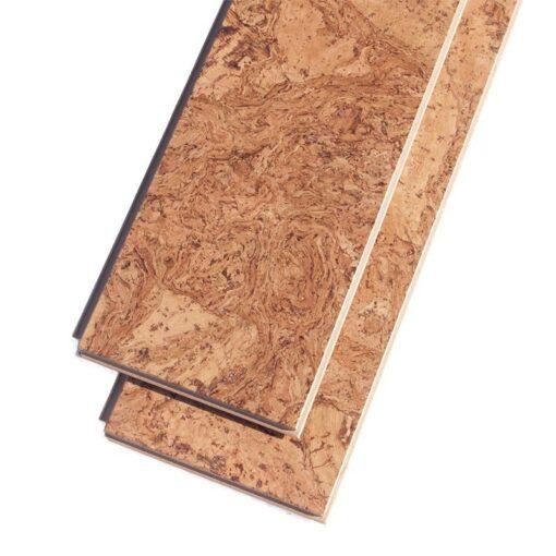 ripple beveled cork flooring narrow plnaks floating