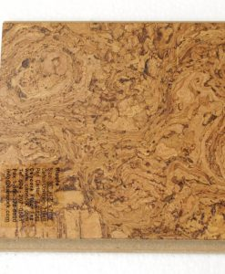 ripple beveled floating cork flooring 11mm sample