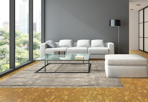 rococo forna cork flooring living room natural colour