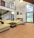 salami cork floor designers house entresol spacious living room