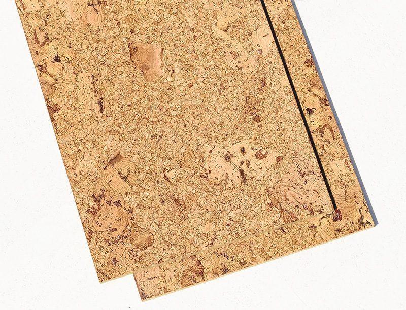 Cork Bathroom Floor Salami 6mm Tiles