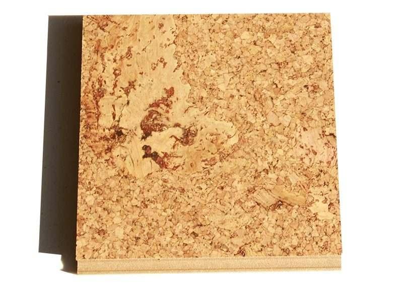 salami floating cork flooring 12mm sample