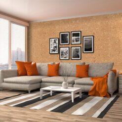salami forna decorative cork wall tiles sound deadening material