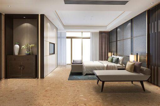 salami icork natural cork floor hotel luxury classic modern bedroom suite