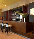 sand marble cork tiles flooring wooden bar high chairs
