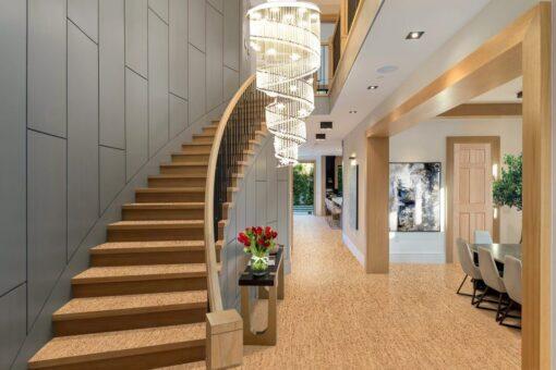silver birch forna cork flooring tiles sustainable house design