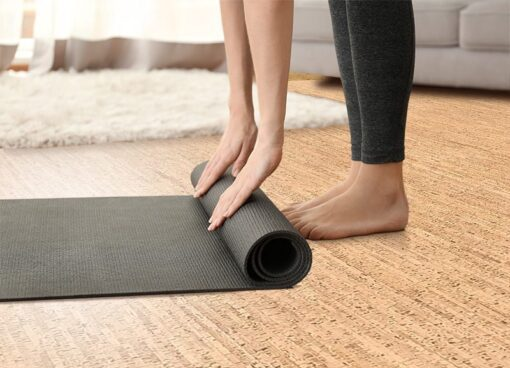silver birch forna cork floors soft resilient yoga