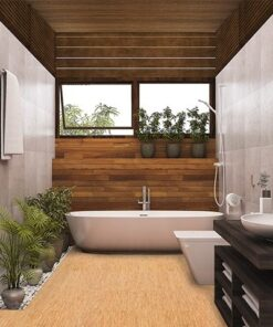 silver birch forna cork modern bath room
