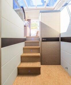 silver birch forna cork tiles luxury yacht waterproof boat