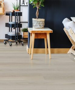 Silver Pine Fusion Cork Forna Flooring Floor Nordic Interior In Stylish Open Office E Studio Black Wall