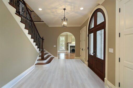 silver pine fusion plank flooring foyer cork
