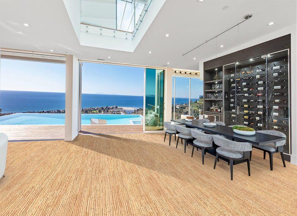 sisal 12mm cork floating flooring