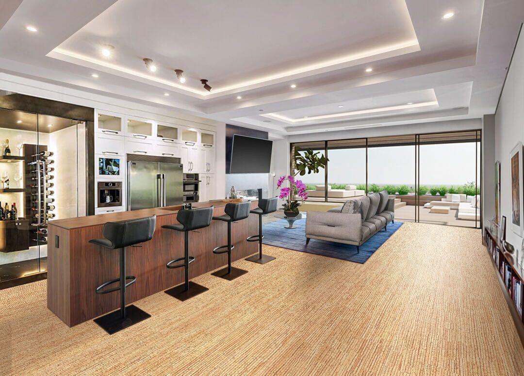 sisal cork floating floor no VOC wood floor trends natural colour