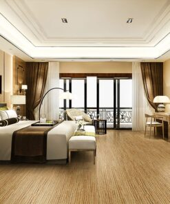 sisal forna cork flooring place for rest in apartment