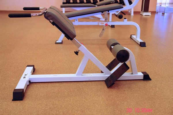 solid cork flooring golden beach home gym