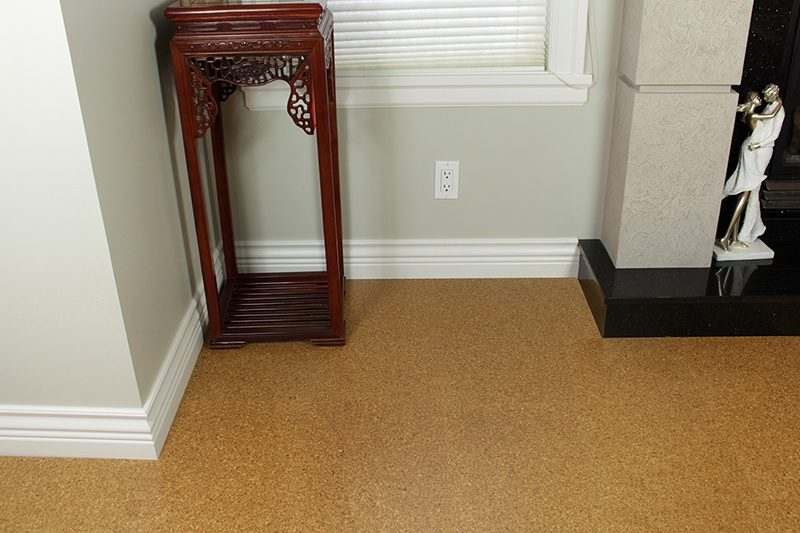Cork floors golden beach 10mm forna floating for Is cork flooring good for basements