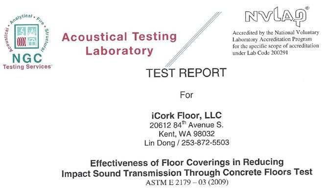 soundproofing floors forna cork floating flooring report