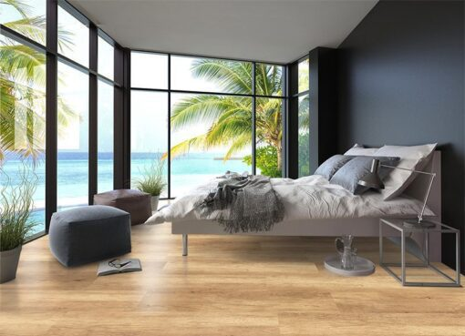 spanish cedar design forna cork floor wood water view bedroom wood interior design
