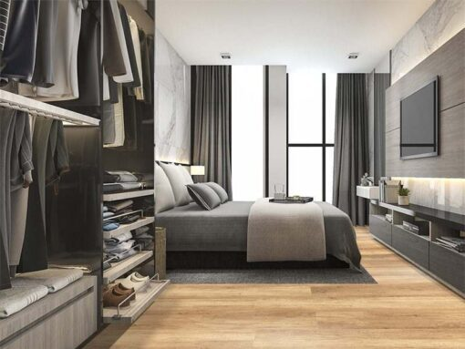spanish cedar forna design cork floor wood natuaral colour bedroom wardrobe interior modern design