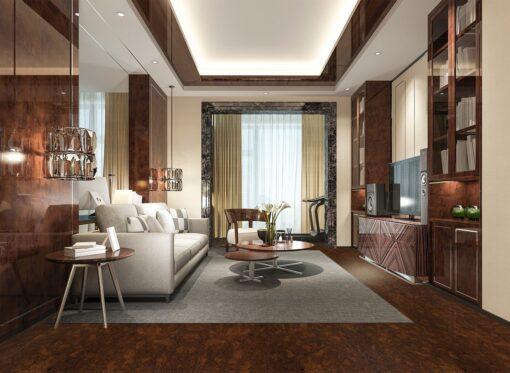 sunny ripple forna cork floor bedroom interior design soundproof