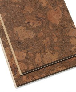 tasmanian burl cork floor uniclic forna middle brown