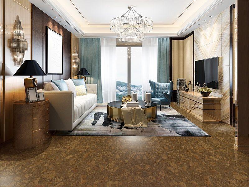 tasmanian burl cork tiles eco friendly home living room