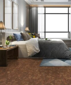 tasmanian cork flooring bedroom modern interior design soundproofing floors