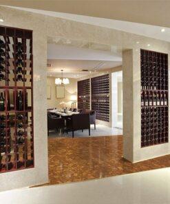 tasmanian cork resilient flooring bar wine restaurant resistant stain