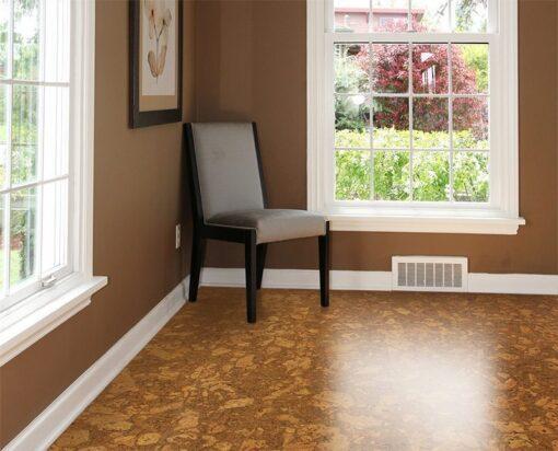 tasmanian cork resilient flooring green home resistant water