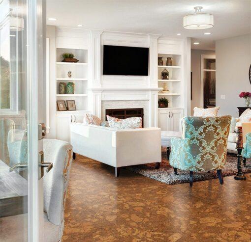 tasmanian cork resilient flooring resistant stain floor