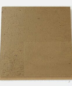taupe leather floating cork flooring 11mm sample