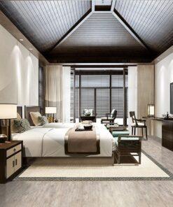 teak fusion cork floor hotel luxury comfortable room design