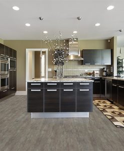 teak fusion cork floor modern kitchen interior design