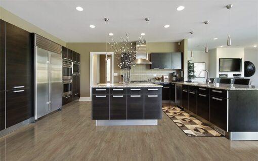 teak fusion cork floor modern kitchen interior design