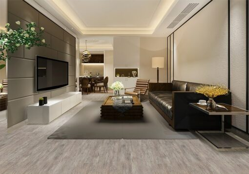 teak fusion cork flooring luxury modern living room black and white wall