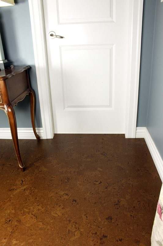 thick cork tile 8mm autumn ripple dining room