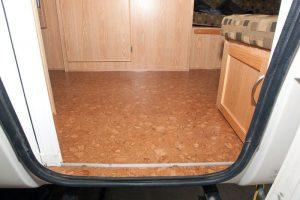 trailer flooring cork tiles forna