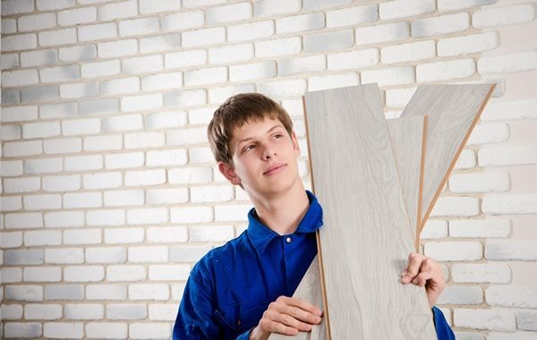vinyl wood flooring cork silver pine click